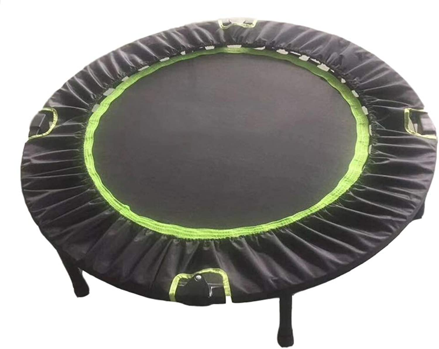 Trampolines 40 Inches Foldable Fitness Equipment, For Indoor Garden Workout Cardio Training