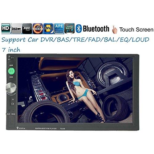 ZHUHAI HONGKANG DONGMAO TRADING CO LTD 2 Din 7 'Touch Screen Digitale MP5 Lettore Multimediale Bluetooth Autoradio 7023B Autoradio USB/TF/AUX In Dash