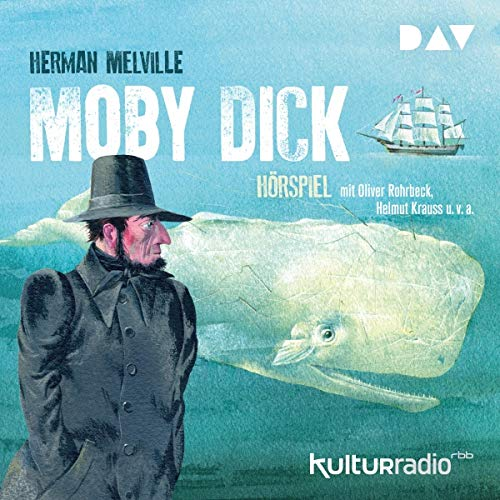 Moby Dick audiobook cover art