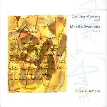 Andrès, Bach, Andriessen, König, Tournier, Bingen, Persichetti & Bozza: Rilke D'amore