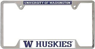 WinCraft NCAA University of Washington Metal License Plate Frame