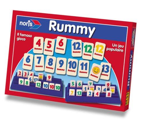 Noris 606049109 - Rummy, Familienspiel