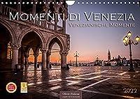 Momenti di Venezia - Venezianische Momente (Wandkalender 2022 DIN A4 quer): Venedig die Stadt die auf Wasser gebaut wurde. Zwoelf beeindruckende Bilder machen diesen Kalender zu einem unvergesslichen Erlebnis. (Monatskalender, 14 Seiten )