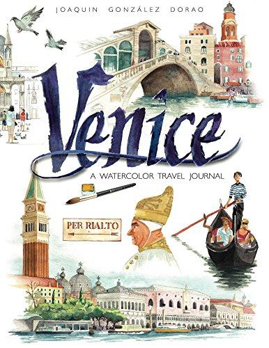 Venice watercolor travel journal