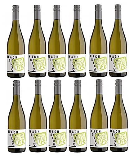 Winzerhof Stahl Nachschlag Bright Side of Life Weißwein Cuvée Wein trocken (12 Flaschen)