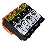 Karl Aiken Cartouches d'encre 33XL Compatible pour Epson 33 Compatible avec Epson...
