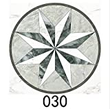 15 unids/Set 8/10/15/20cm Mármado WaterJet de parquet baldosas Diagonal Pegatina de Pared baño Cocina decoración de Pared azulejo PVC Arte Mural (Color : CZ030, Size : 15cmX15cmX15pcs)