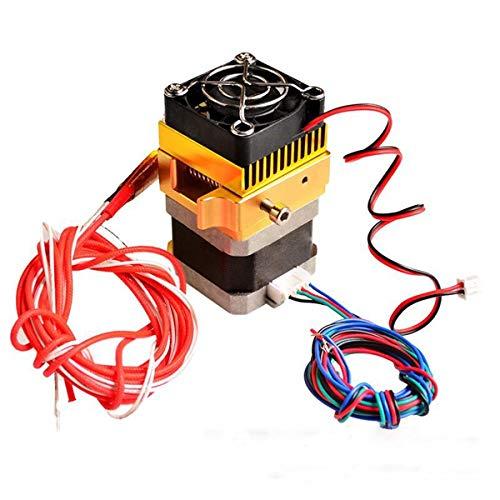 YJIA 0.4mm MK8 Extrudeuse Full Metal Buse tête d'impression for imprimante 3D Prusa i3 Accessoires d'imprimante 3D