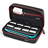 Carry Case for Nintendo New 2DS XL/New 3DS XL, Keten Hard Travel Protective Shell for New Nintendo 3DS, New 2DS Console&Game, Also for Anker External Battery Store