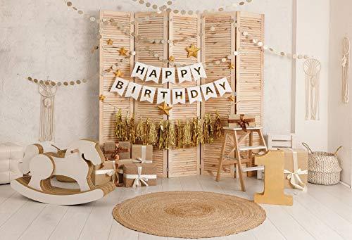 Flugzeug Baby Spielzeug Alter Koffer TV Telefon Zement Wand Kind Geburtstagsfeier Porträt Foto Hintergrund Foto Hintergrund A22 10x10ft / 3x3m