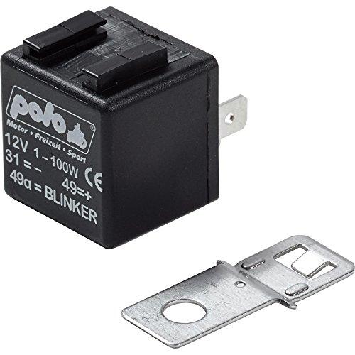 Polo Blinkgeber 12V 3-polig, 1-100 Watt, Unisex, Multipurpose, Ganzjährig, Kunststoff