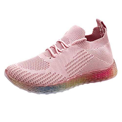 Chaussures de Sport Chaussures de Sport LILICHIC Baskets en Maille pour Femmes Chaussures de Sport pour /étudiants Chaussettes antid/érapantes