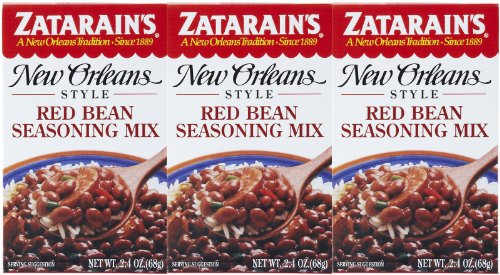 Zatarain's Red Bean Seasoning Mix, 2.4 oz, 3 pk
