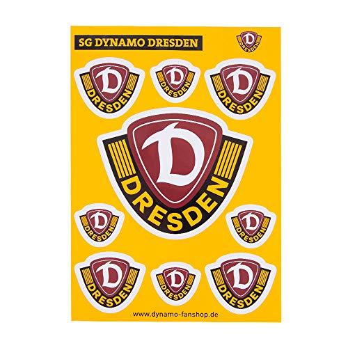 SG Dynamo Dresden Aufkleber Set Logo A5