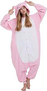 Pigiama Unicorno Kigurumi Animali Cosplay Uomo Donna Adulti Costume Tuta
