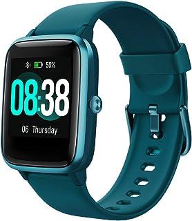 YONMIG Reloj Inteligente Mujer y Hombre, Smartwatch Impermeable IP68 Pulsera Actividad Deportivo con Monitor de Sueño, Pul...