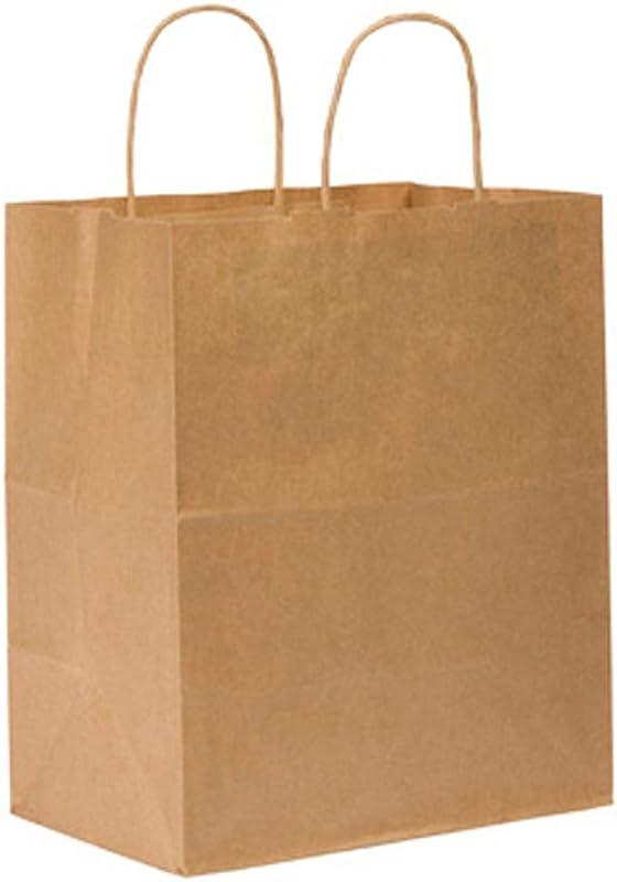 Duro ID 87490 Bistro Shopping Bag 60 Natural Kraft 250pk 10 X 6 75 X 12
