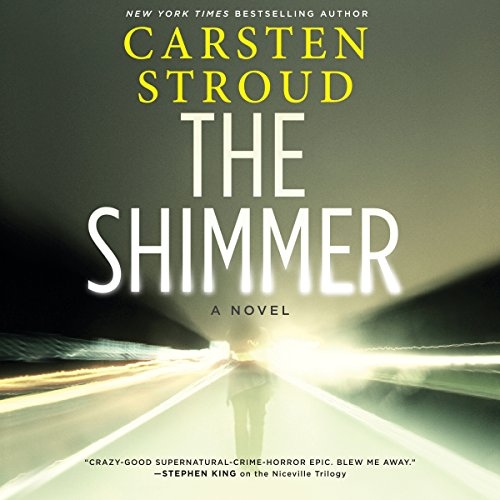 The Shimmer audiobook cover art