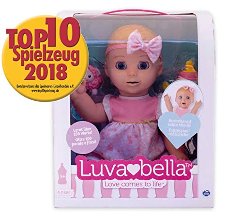 Luvabella - 6039298 - DEUTSCHE Version - Interaktive Puppe