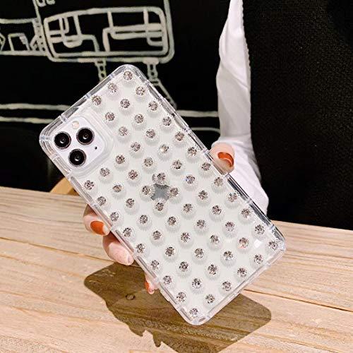 SevenPanda für iPhone 8 Hülle Diamant, Kristall Handmade Bling Bling Glitter Sparkle Shiny Strass Case für Mädchen und Frauen, Schutzhülle TPU Case für iPhone 7 4.7 Zoll (Klar)