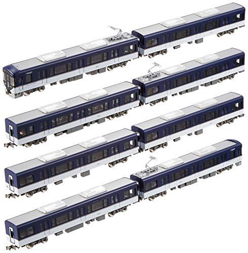 グリーンマックス Nゲージ 京阪3000系 快速特急「洛楽」 ・ 種別/行先選択式 8両編成セット 動力付き 30302 鉄道模型 電車