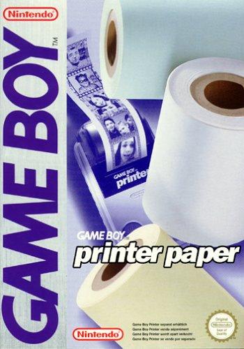 Game Boy - Printer Druckerpapier (3 Rollen)