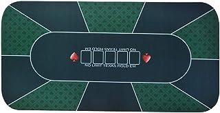 LIHUAN Texas Hold'em Goma Cojín Mantel Mantel Mantel Mantel Juego,G-1.8 * 0.9m