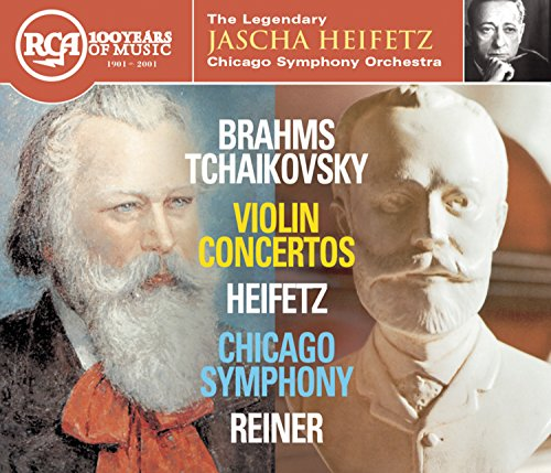 Price comparison product image Brahms / Tchaikovsky,  Violin Concertos: Heifetz,  Chicago Symphony,  Reiner