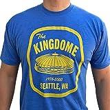 Kingdome Patch tri blend mens/unisex shirt - Seattle Kingdome men's t-shirt