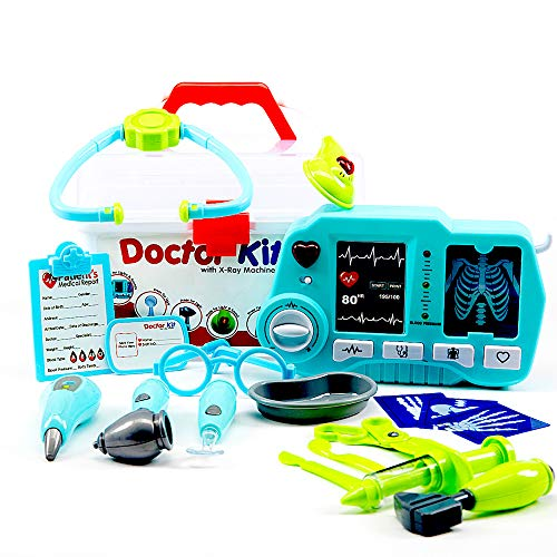 Big Imagination Co. Kids Toy Doctor Kit with X-Ray Machine