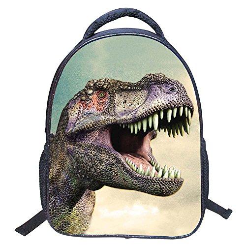 Mochilas Escolares de Dinosaurio 3D Mochilas de Nylon para N