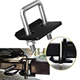 """Bentolin Anti-Rattle Stabilizer Hitch Tightener for 1.25 inch and 2 inch Hitches 1.25"""" 2"""" Corrosion Resistant Heavy Lock Down Tow Clamp"""