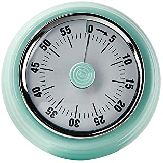 No battery mechanical timer, kitchen timer with magnet, time manager, can be used for cooking, learning, baking, exercise,...