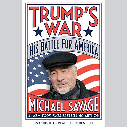Trump's War audiobook cover art