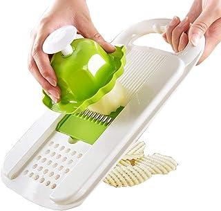Trancheuse Mandoline coupe-légumes Veggie Dicer Creative Cuisine Multifonction Shredder Manuellement Idéal For Slicing Fru...