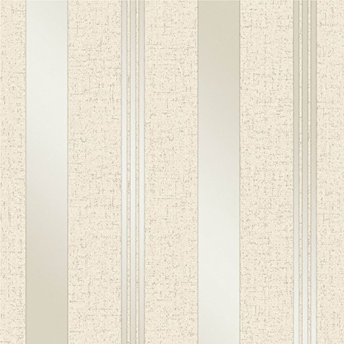 Fine Décor FD41972 - Papel pintado para pared, diseño de rayas, color dorado