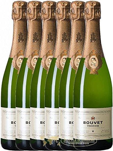 Bouvet Tresor Vintage Blanc Brut aus Frankreich 6 x 0,75 Liter