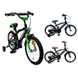 AMIGO BMX Fun - Kinderfahrrad - 16 Zoll - Jungen