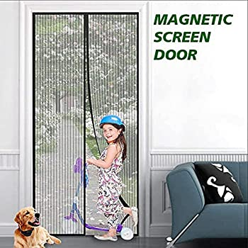 eMaxtree Fiberglass Magnetic Screen Door (36x83 inches or 39x83 inches)