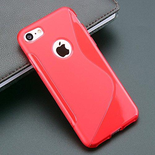 Sony Xperia U ST25i Caso Elegante - Rojo S-Line TPU Gel Funda Case Para Sony Xperia U ST25i - thinkmobile