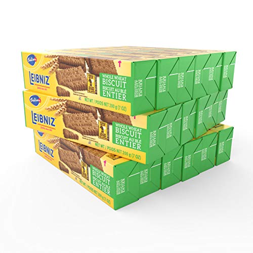 Bahlsen Leibniz Whole Wheat Butter Biscuit Cookies (18 boxes) | Our classic...