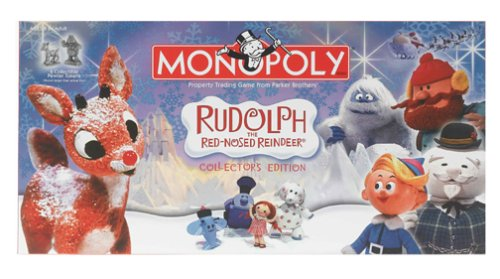 Monopoly Rudolph The Red Nosed Reindeer