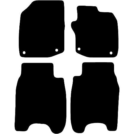 BEIGE TRIM Rmsone GENUINE FULLY TAILORED BLACK CARPET CAR MATS CIVIC 2012-2017