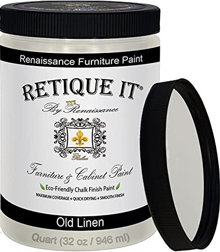 Retique It Chalk Furniture Paint by Renaissance DIY, 32 oz...