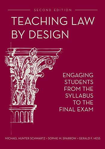 Teaching Law by Design: Engaging Students from the Syllabus to the Final Exam