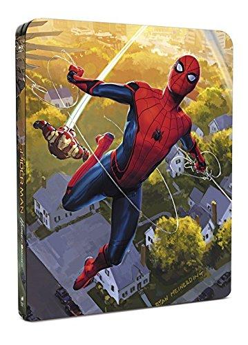 Spider-Man Homecoming Steelbook UK Limited Edition 4k +3D+2D+Digital Disk Steelbook +and Comic Region Free