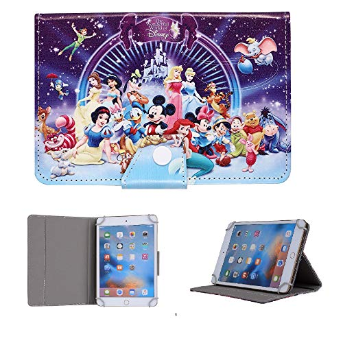 Kids Case for iPad 10.2 Inch 2020 2019 (7th 8th Generation) / iPad Pro 10.5/ iPad Air 3, Stand Up Flip Protective Case (Disney Wonderful World)