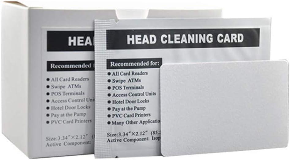 Kingjinglo 50 Pcs Card Reader Alternative Oakland Mall dealer ATM Cards Cleaning M
