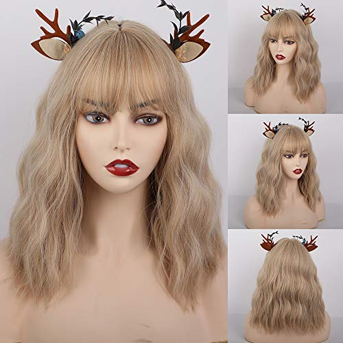 comprar pelucas cortas rubias de mujer por internet