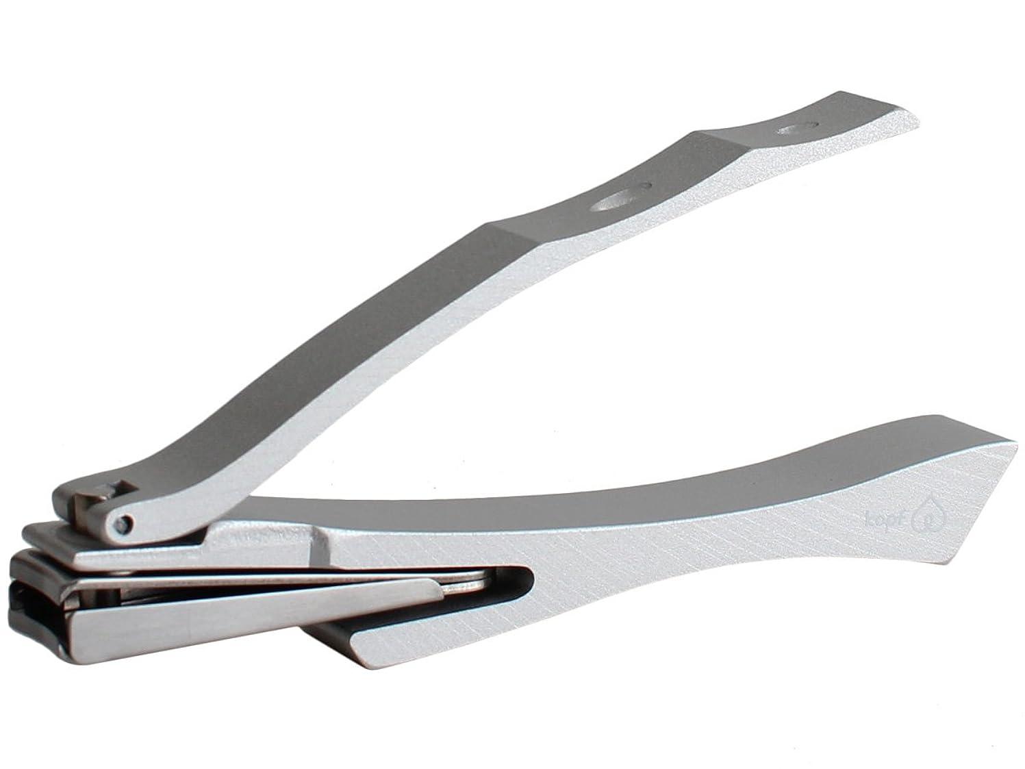 膨張するプロフィール気づかないヨシタ手工業デザイン室 ヨシタシュコウギョウデザインシツ|ツメキリ Griff (回転刃タイプ/爪ヤスリ付き)